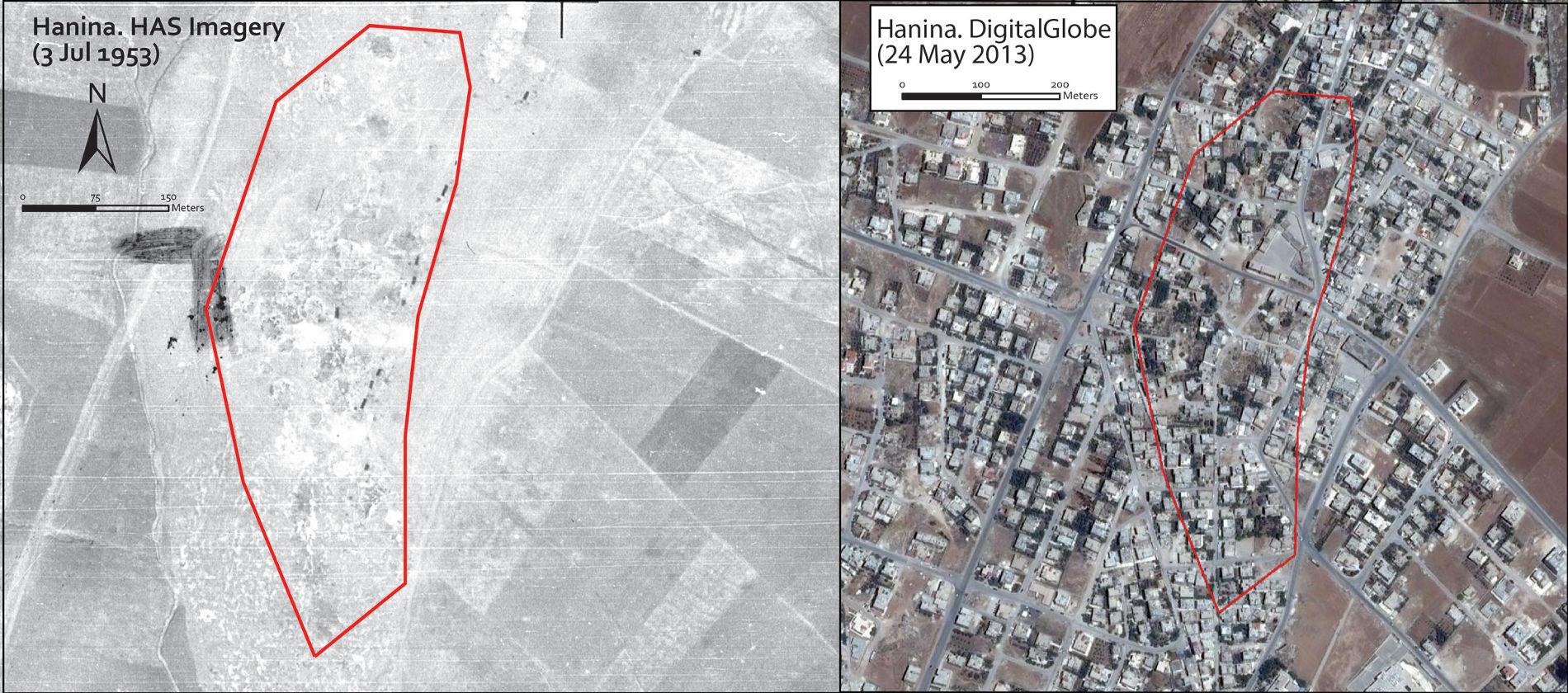 Aerial survey Madaba ring road