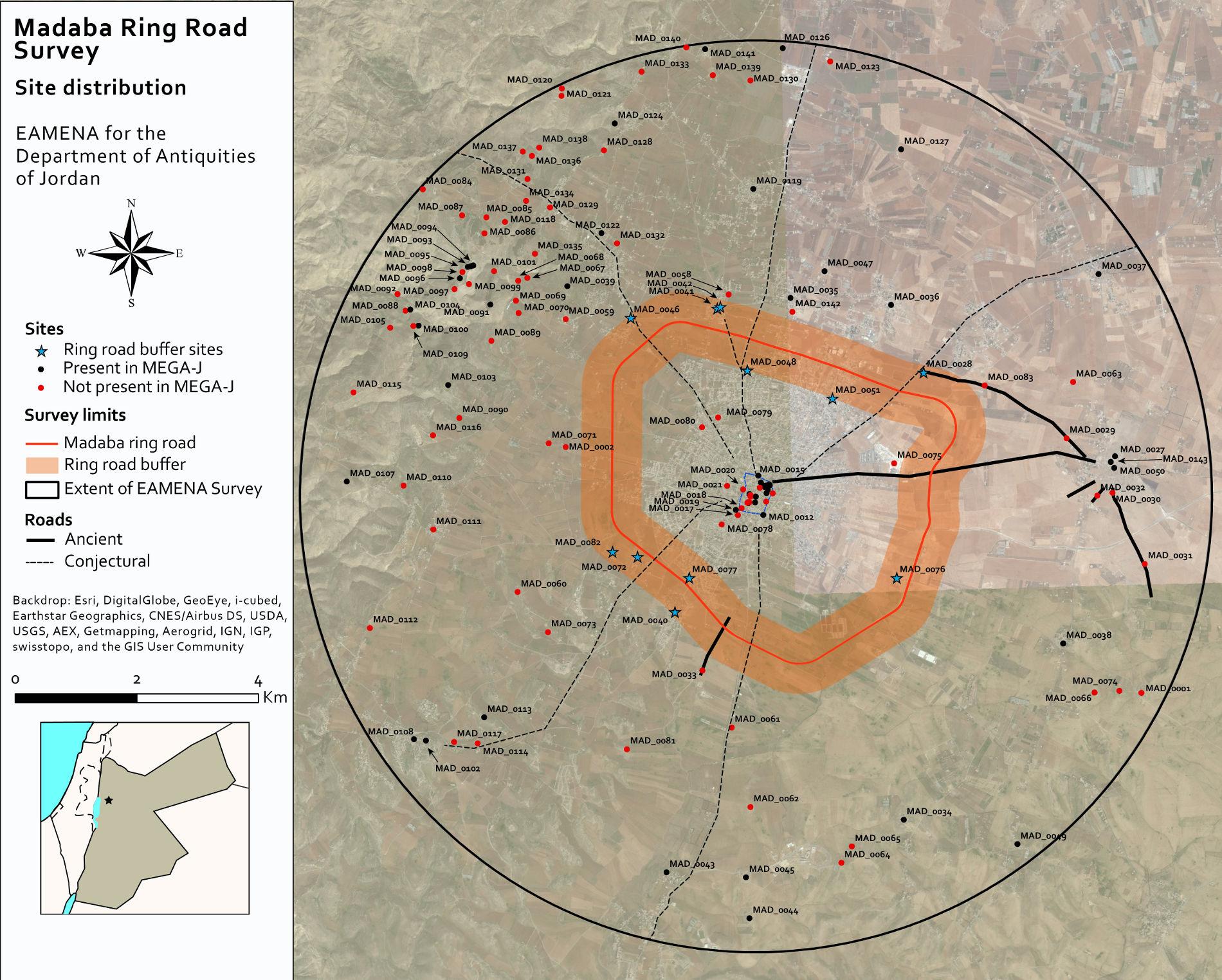 Madaba Ring Road Survey
