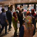 Visitors attending the opening of the exhibition, Nubian Museum, Aswan, Egypt, November 2018. Photographs: EAMENA.