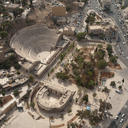 Fig. 2. Development around the forum and theatre in Amman, Jordan, 2009.