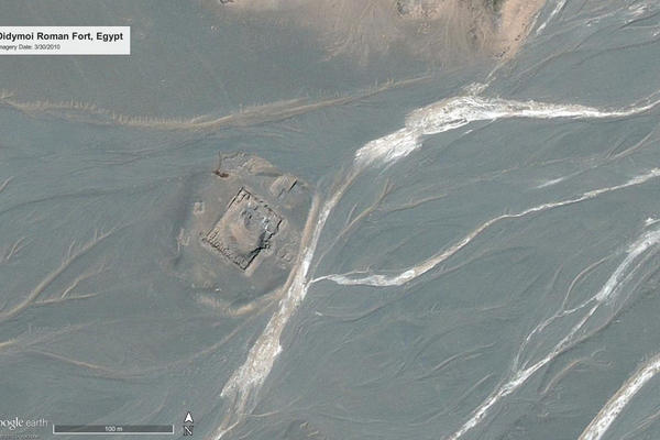 Figure 1a: Didymoi Roman Fort, Egypt, in 2010
