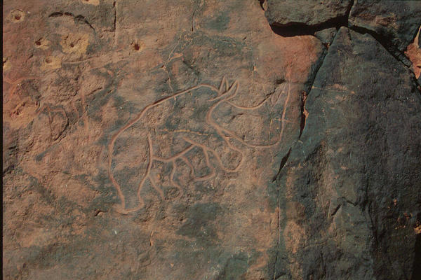 Wadi Mathandusch rock art