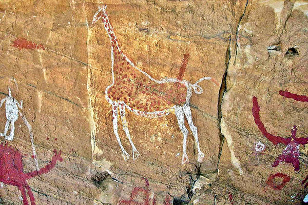 Tadrart Acacus World Heritage Site (Rock Art) Libya (Luca Galuzzi [CC BY-SA 2.5 (http://creativecommons.org/licenses/by-sa/2.5)], via Wikimedia Commons)