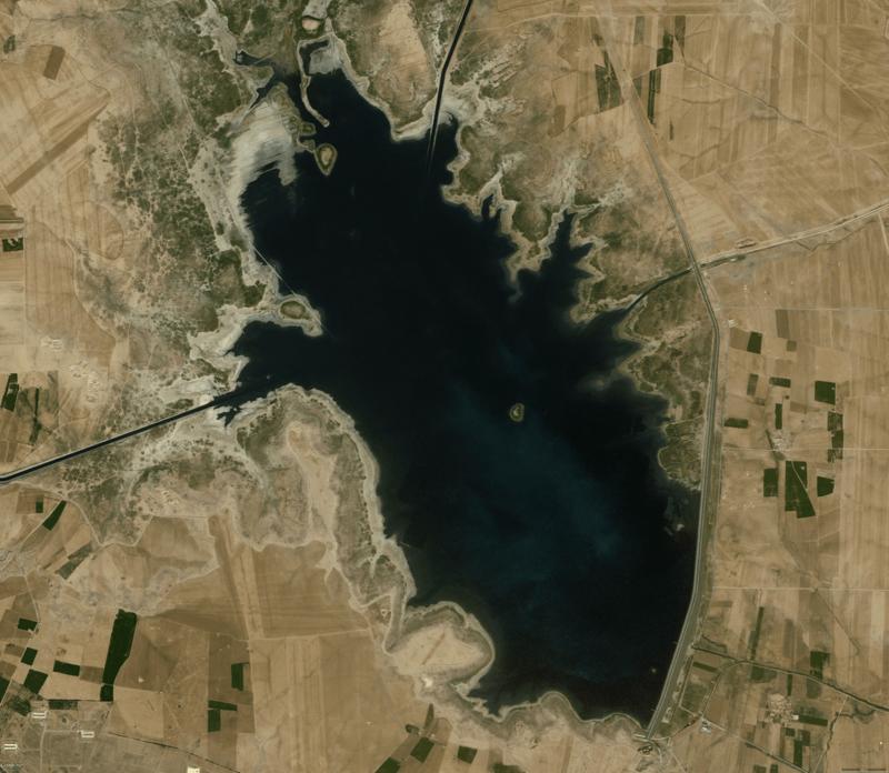 West Hasseke dam