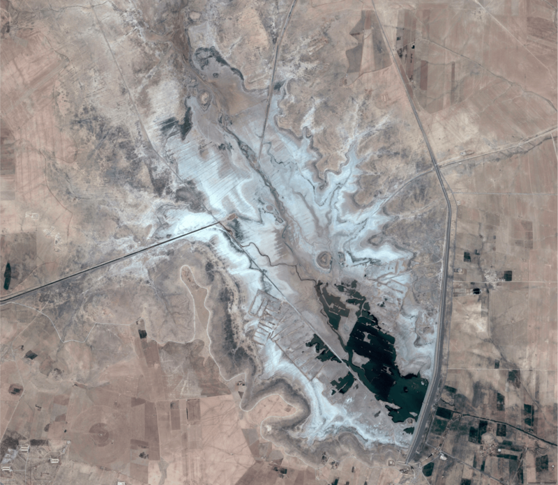 West Hasseke dam 2013