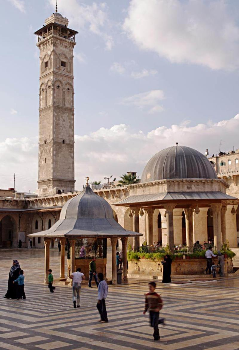 Aleppo minaret