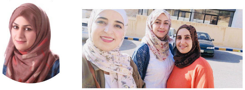 Dana AlSalamin, Rudaina Almomani, and Shatha Mubaideen have participated at the EAMENA Project's Training Scheme, funded by the UK Government's Cultural Protection Fund (CPF) in January-Feburary 2018.