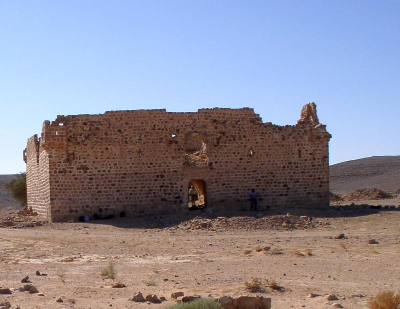 Figure 4. Fassu'ah Fort, east elevation. Image, J B Winterburn, 2009.