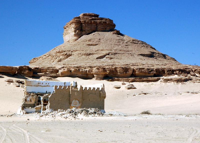 Figure 6. Mudawwara Fort. Image J B Winterburn, 2010.
