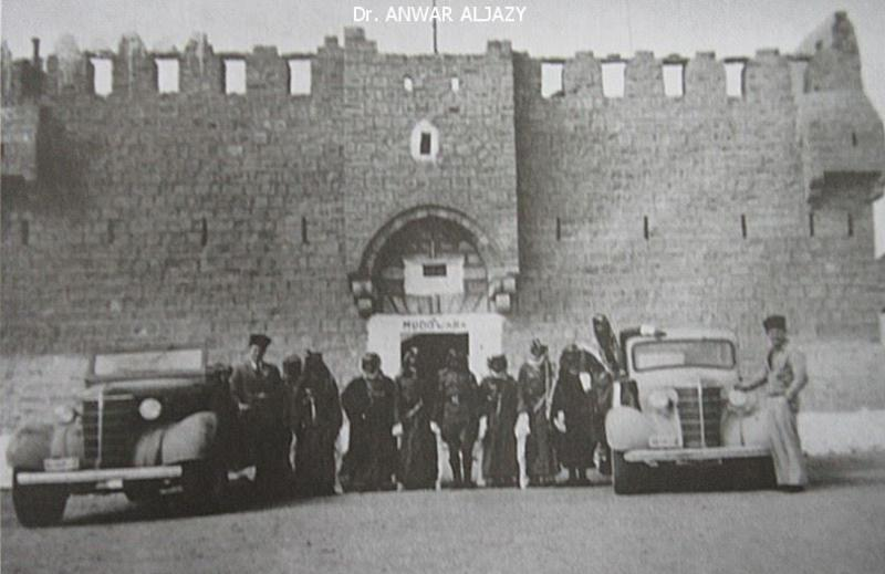 Figure 7. Mudawwara Fort in the mid-twentieth century. Image courtesy of Dr Anwar Aljazy.