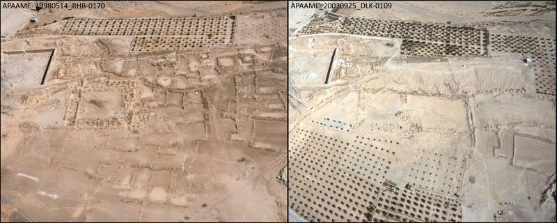 Jordan Maan el Hammam agricultural expansion