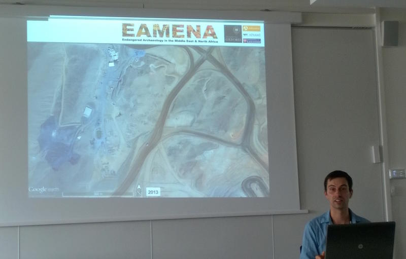 Figure 3: Michael discussing mining in the Eastern Desert of Egypt (photo Nichole Sheldrick)