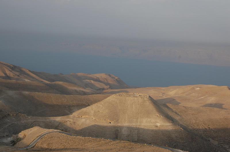Fig. 4. Machaerus Roman fortress, Jordan, 2006.
