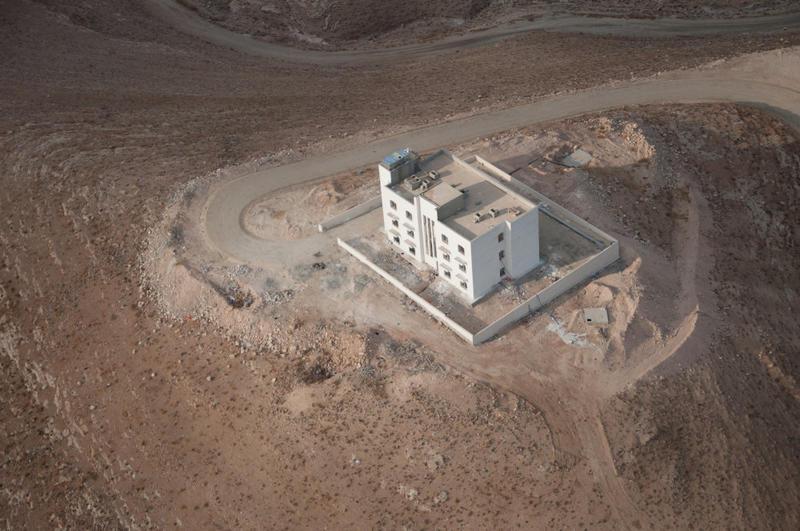 Fig. 5. Machaerus Roman fortress – Camp P, Jordan, 2014.