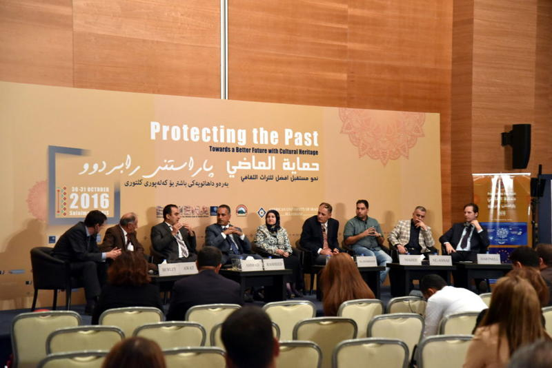 Roundtable on the current needs of local heritage managers in Iraq.