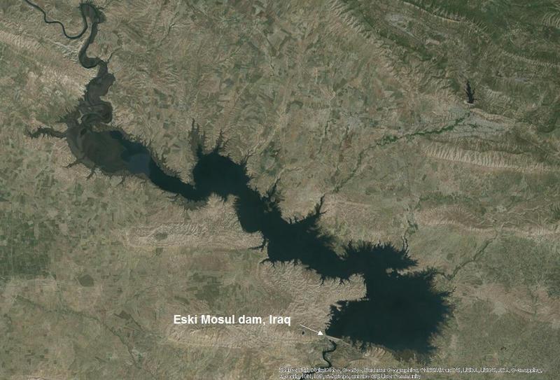 Eski Mosul dam Iraq
