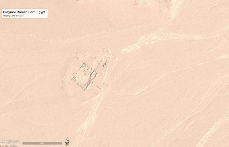 Figure 1b: Didymoi Roman Fort, Egypt, in 2013