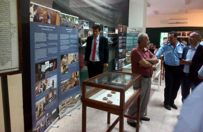 CPF Palestine exhibition