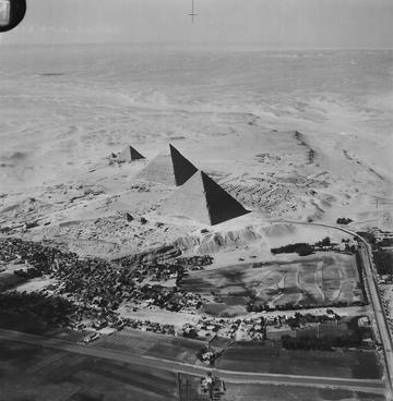 Fig. 1: Giza Pyramids in 1930s