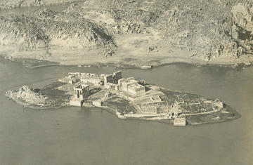 "Fig. 2. Philie Island, Isis temple, Aswan (EAMENA archive ""R.E. Collis collection, courtesy of Joan Allen"")"