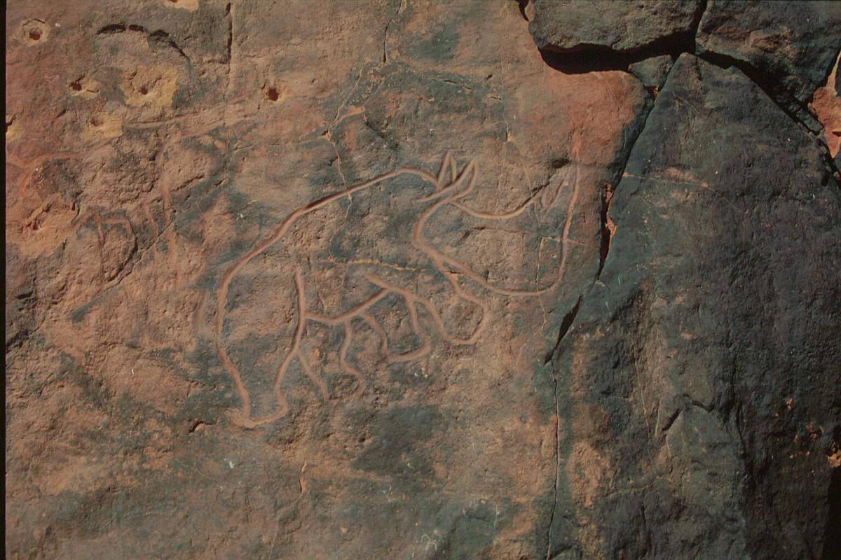 Wadi Mathandusch rock art